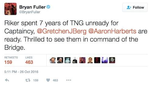 Bryan Fuller tweet