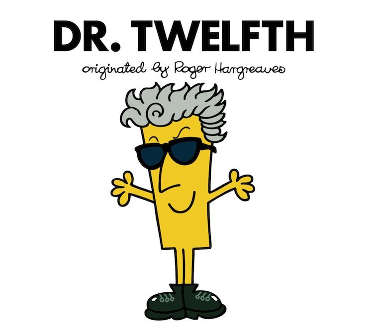Doctor Who, Roger Hargreaves mashup, illustrated by Adam Hargreaves