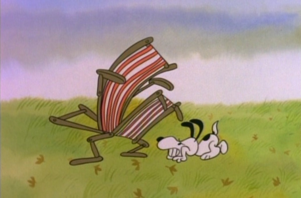 Snoopy vs. The Chair