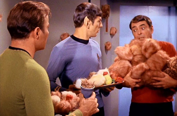 Star Trek, trouble with tribbles