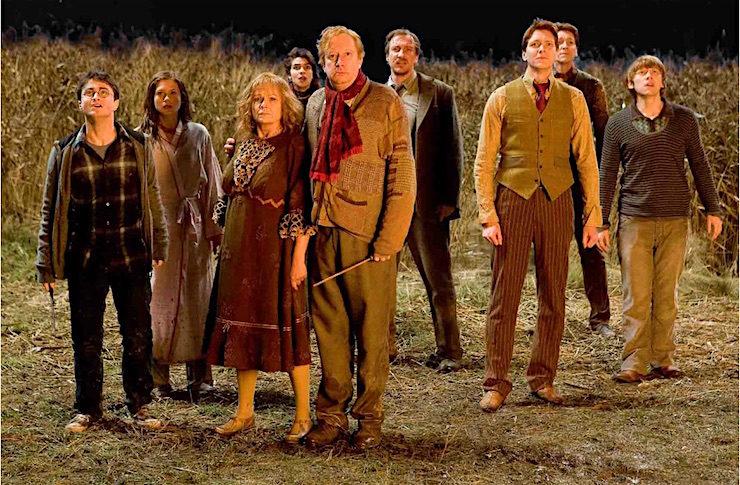The Weasleys Burrow