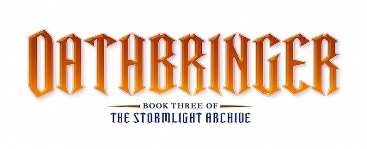 Oathbringer Stormlight Archive Book 3 title