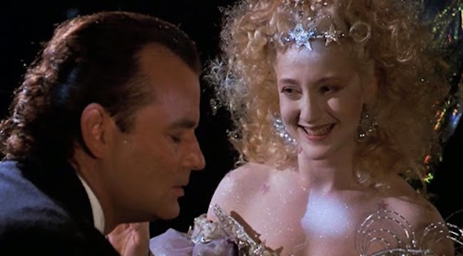 "I Was a Schmuck! And Now, I'm Not a Schmuck!"": Scrooged 