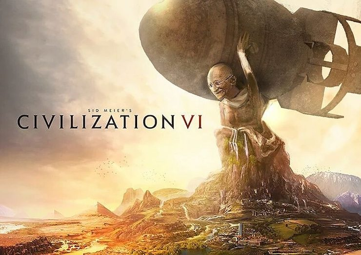 Civilization 6 Gandhi meme
