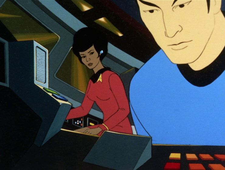 Star Trek Animated Series One of Our Planets is Missing