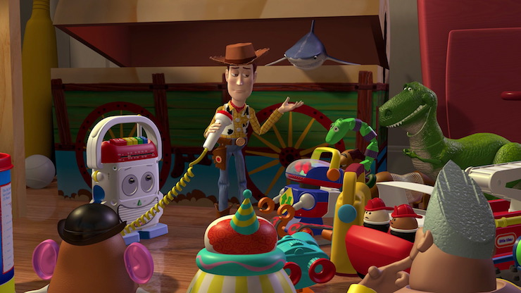 Group of Toys in Pixar's Toy Story