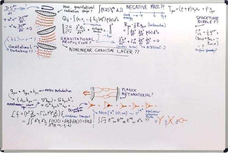 Arrival whiteboard interstellar travel Stephen Wolfram Research
