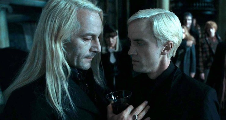 Draco and Lucius Malfoy, Harry Potter and the Deathly Hallows