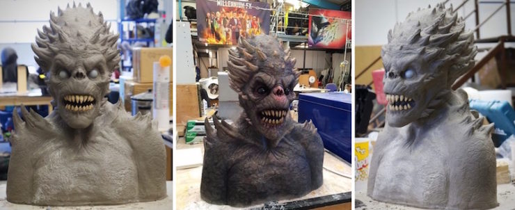 The Core cover process demon busts