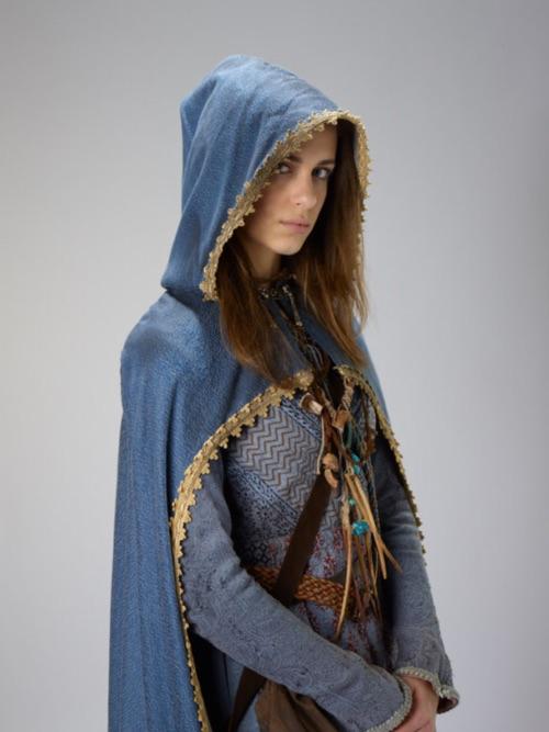 The Core cover model Leesha costume The Demon Cycle Peter V. Brett
