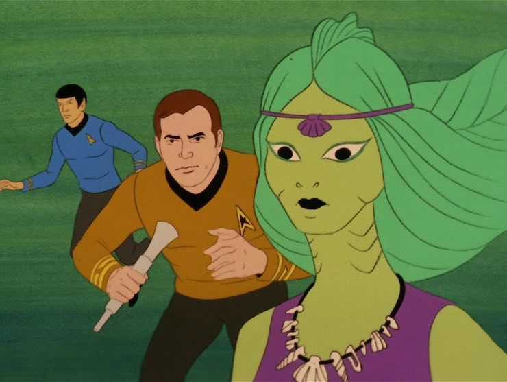 Star Trek, the Animated Series, The Ambergris Element