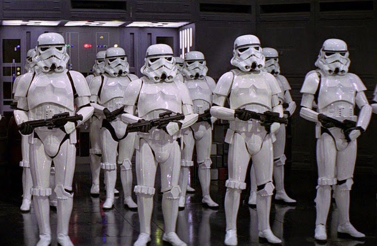 Star Wars, stormtroopers