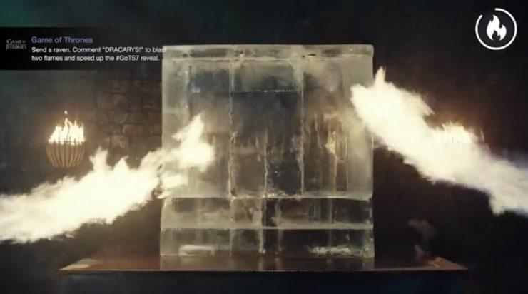 Game of Thrones ice block
