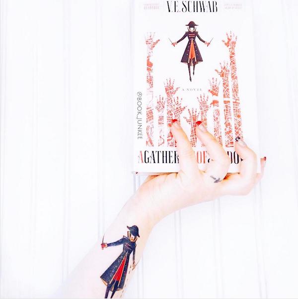 Lila Bard tattoo Shades of Magic