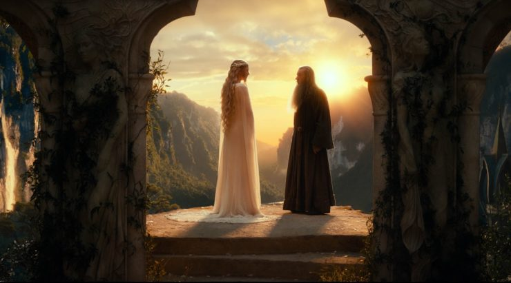 gandalf and galadriel romance explained