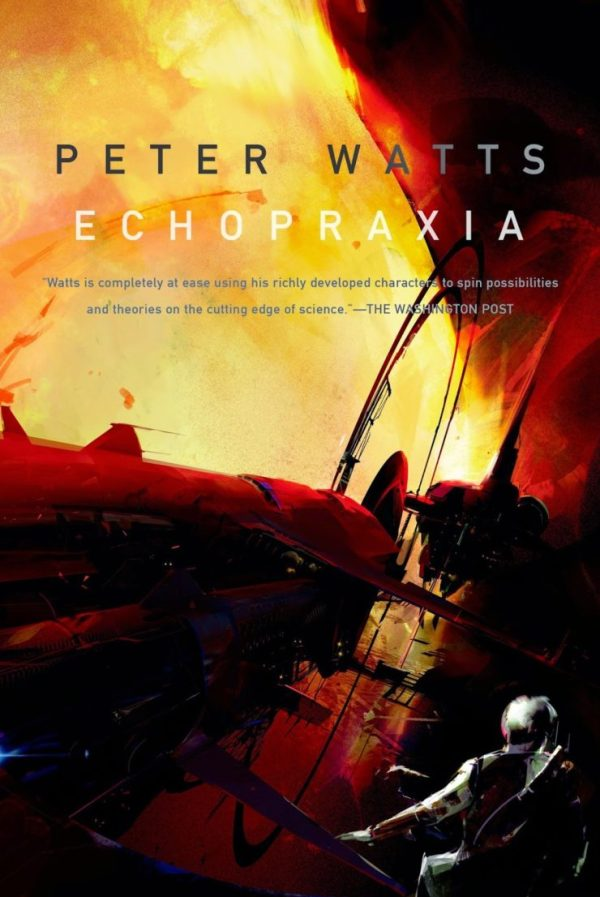 Echopraxia Peter Watts book cover Richard Anderson