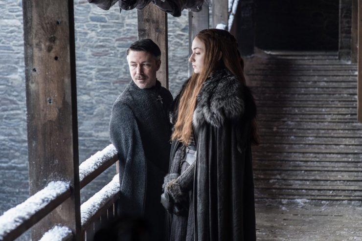 Game of Thrones season 7 photos Littlefinger Sansa Stark