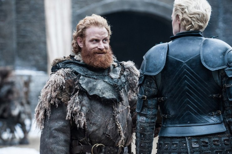 Game of Thrones season 7 Tormund Brienne