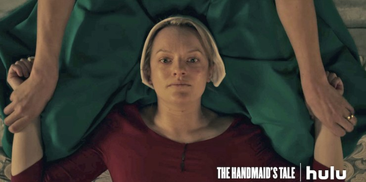 The Handmaid's Tale television review Offred Ceremony