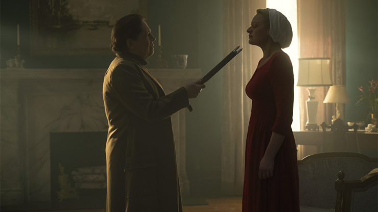 The Handmaid's Tale review Aunt Lydia