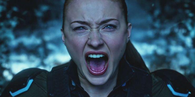 Jean Grey scream Dark Phoenix