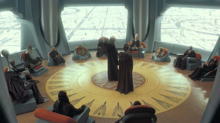 Star Wars, The Phantom Menace, Jedi Council