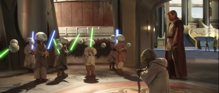 Star Wars, Attack of the Clones, Jedi younglings