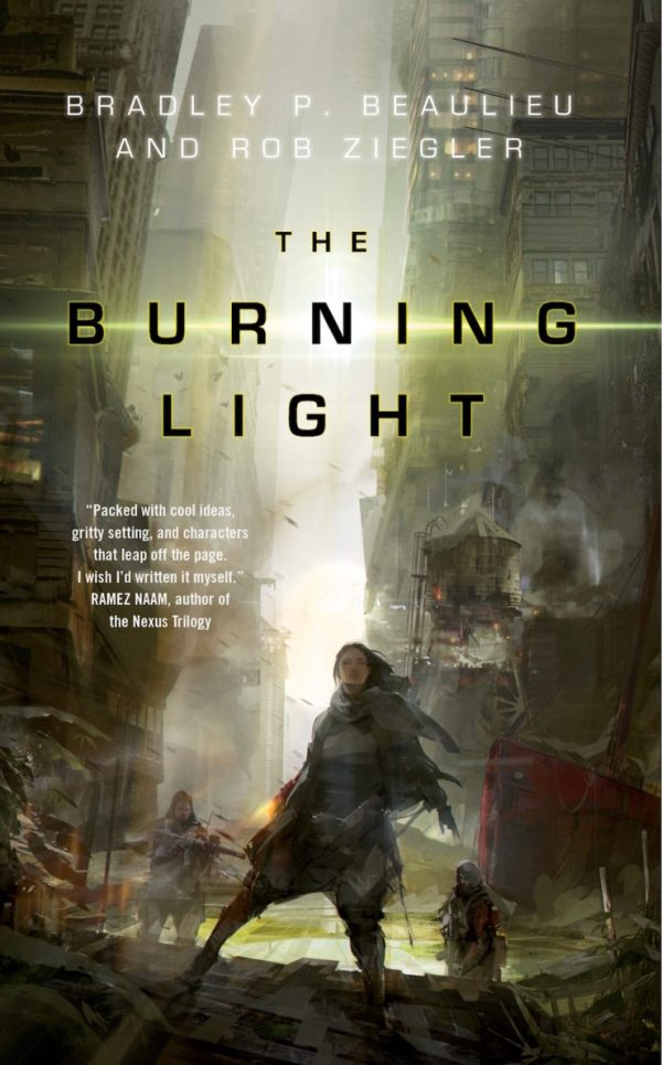 Richard Anderson SFF book covers The Burning Light Bradley P. Beaulieu Rob Ziegler