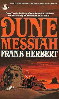 Dune Messiah Cover