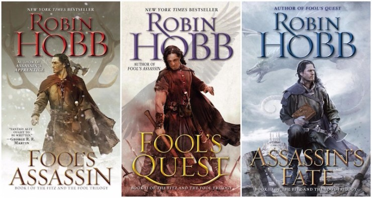 Robin Hobb's Fitz and the Fool trilogy
