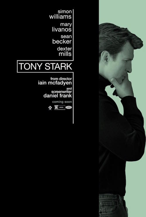 Tony Stark movie poster, Nathan Fillion, Simon Williams
