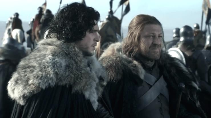 Ned Stark Jon Snow