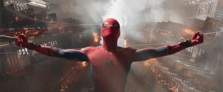 Staten Island Ferry scene Spider-Man Homecoming