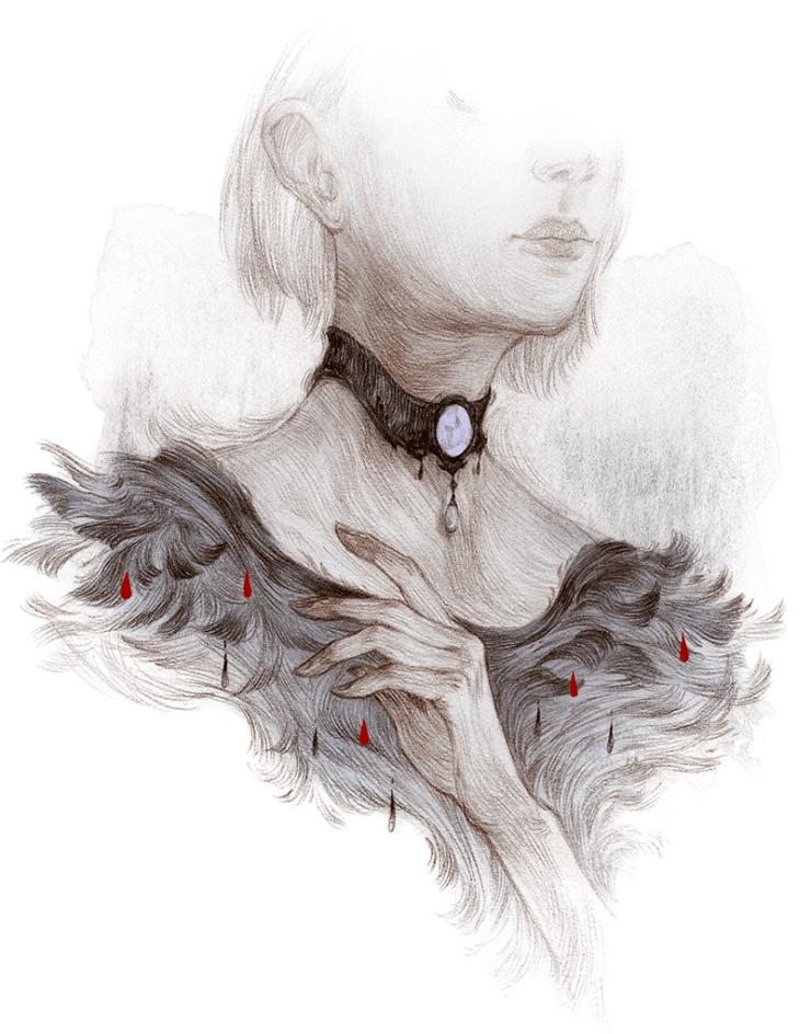 Rovina Cai Down Among the Sticks and Bones illustration Jill