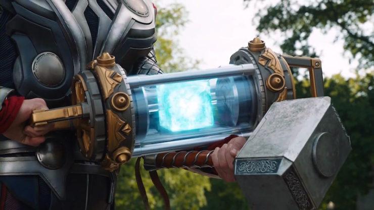 The Tesseract, MCU
