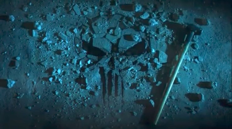 The Punisher teaser Marvel Netflix