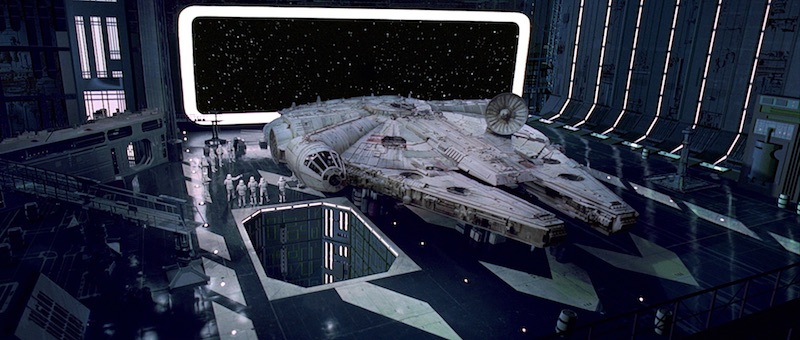where did the name millennium falcon come from anyway. Black Bedroom Furniture Sets. Home Design Ideas
