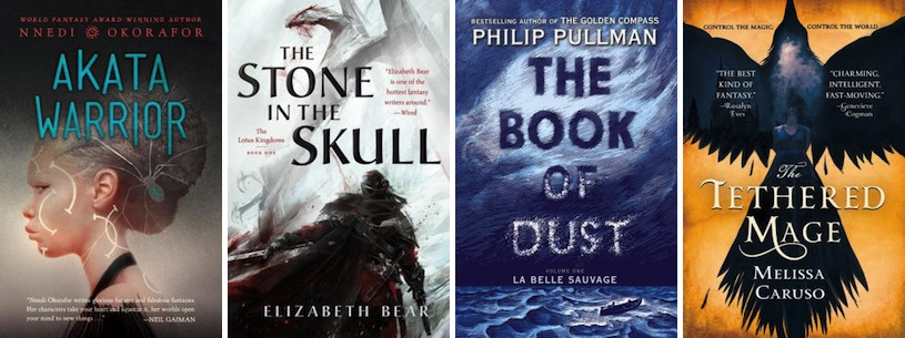 All The New Fantasy Books Coming Out In October