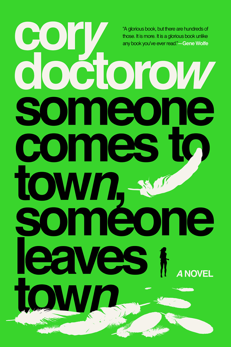 Someone Comes to Town, Someone Leaves Town by Cory Doctorow