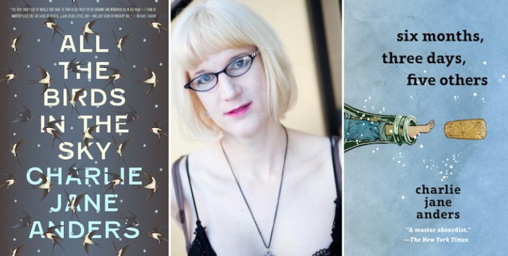 Charlie Jane Anders sci-fi YA trilogy coming of age in outer space Tor Teen