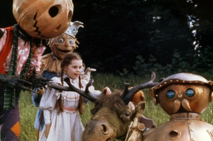 Return to Oz quirky horror book movies list