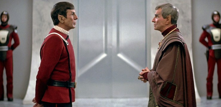 Star Trek IV, Spock and Sarek