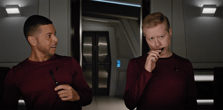 Star Trek Discovery episode Choose Your Pain Culber and Stametz