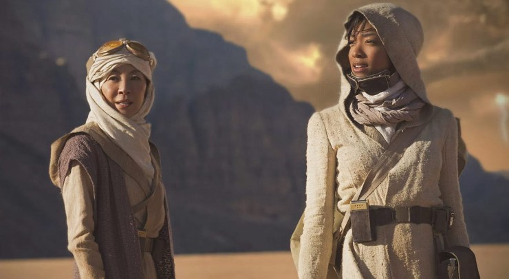 Star Trek Discovery, Michael and Captain Philippa Georgiou