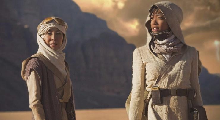 Star Trek Discovery, Michael and Captain Philippa Georgiou