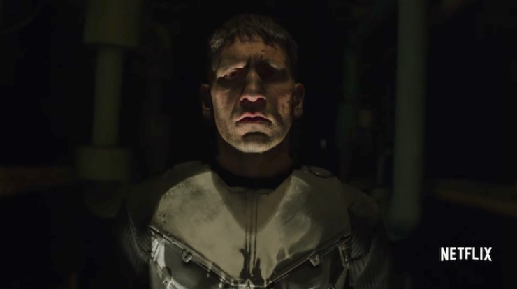 The Punisher final trailer premiere date Netflix Marvel Frank Castle