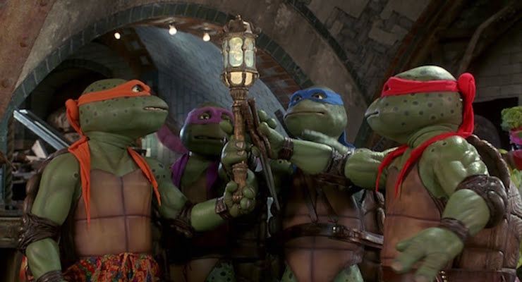 "Cowabunga!"" — Teenage Mutant Ninja Turtles (1990), Teenage"