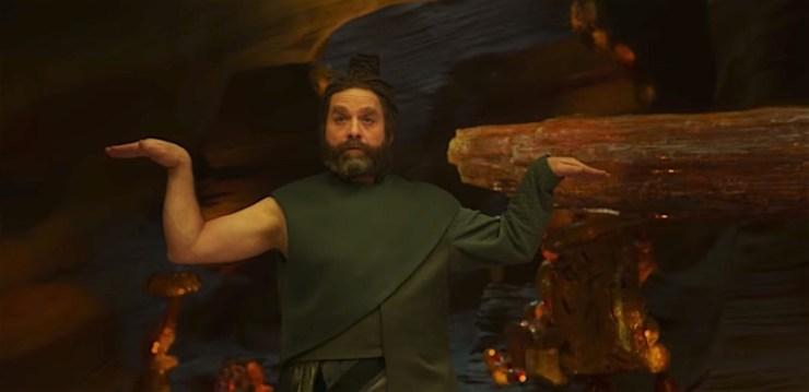 Zach Galifianakis as The Happy Medium