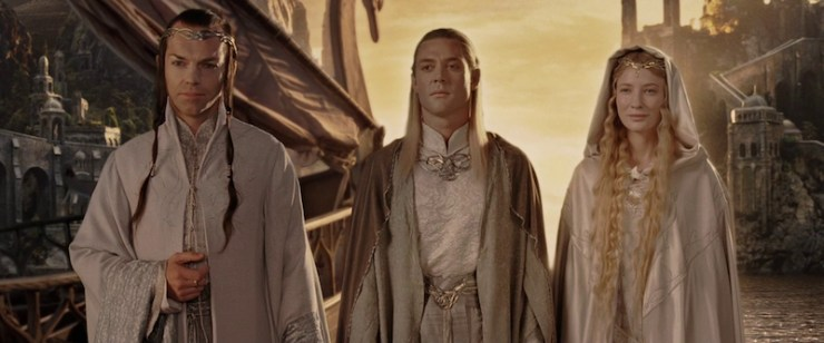 Lord of the Rings elves Galadriel TV show speculation