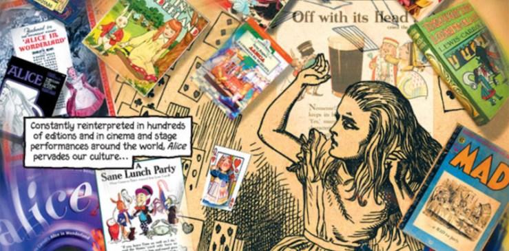 Alice in Wonderland retellings Alice in Sunderland Bryan Talbot